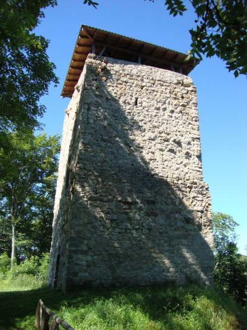 Turm der Ruine Hohenringingen