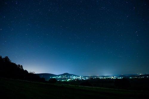 Nachthimmel über Niedenstein