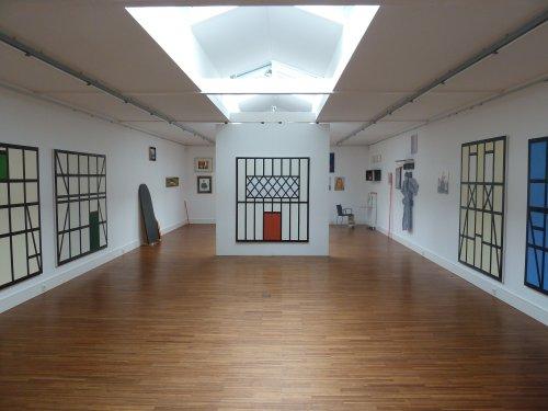 Blick in die Kunsthalle Willingshausen