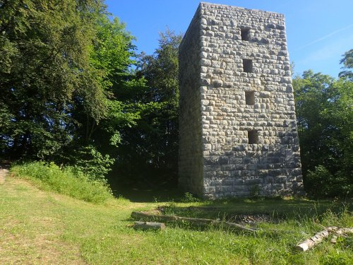 Schalksburgturm auf dem ehemaligen Gelände der Schalksburg