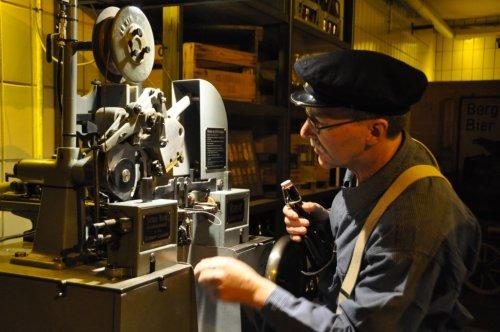 Alfred Pfeifer-Roth - historischer Etikettierer - BrauereiGewölbe in der BerBrauerei in Ehingen