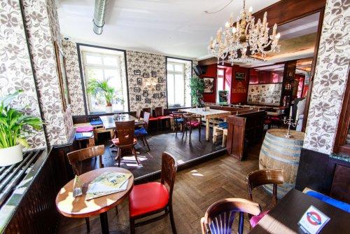 Oxford Pub Innenansicht