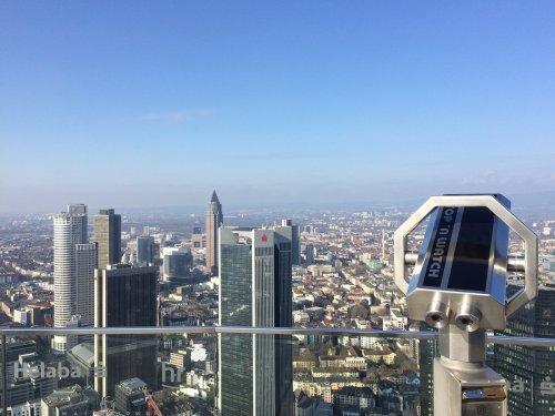 Aussicht vom Frankfurter MAIN TOWER