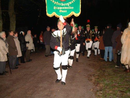 Prozession zur Mettenschicht