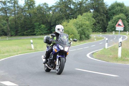 Motorradfahren im Rotkäppchenland