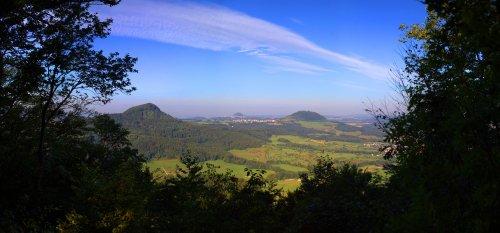 Die Drei Kaiseberge Stuifen, Hohenstaufen und Rechberg