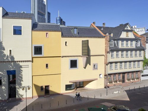 Fassadenansicht des Deutschen Romantik Museum