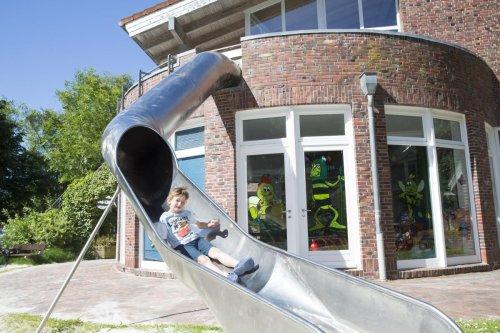 Außenspielplatz am Kinderspielhaus Seepferdchen