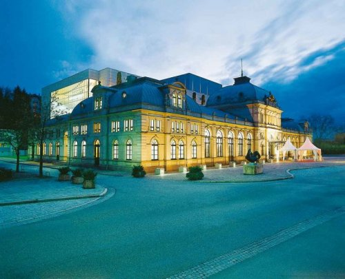 Festspielhaus Baden-Baden in Abendstimmung