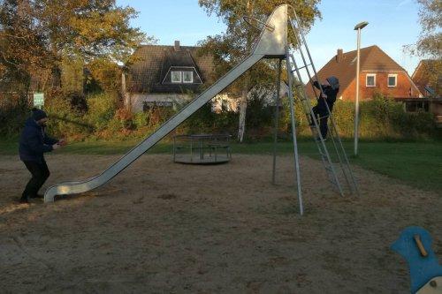 Spielen und toben in Mildstedt