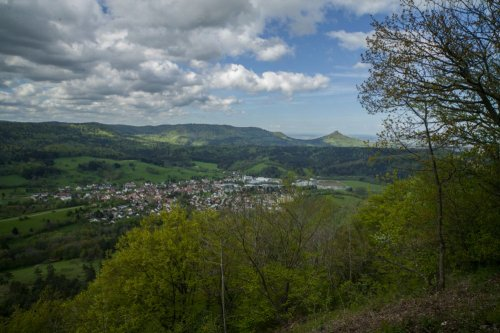 Köhlberg - Blick Richtung Killertal u. Hechingen