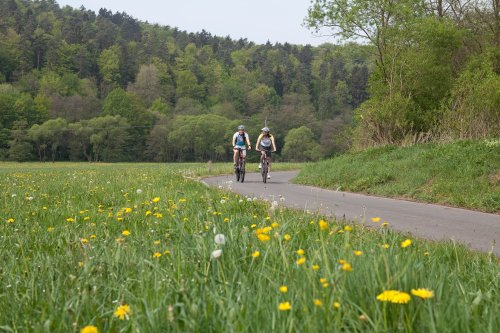 Radfahren im schönen Aulatal