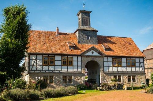 Torhaus des Gut Bodenhausen bei Zierenberg