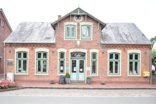 Der Treffpunkt Oldenswort mit dem Klöön Stuv Cafe