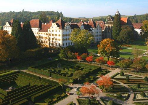 Schloss Salem Formengarten