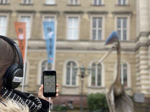 So klingt Karlsruhe:  Mit Zeus und Wirbitzky die Fächerstadt erkunden