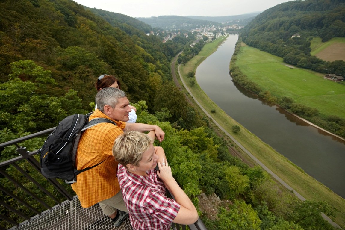 Wanderer am Skywalk