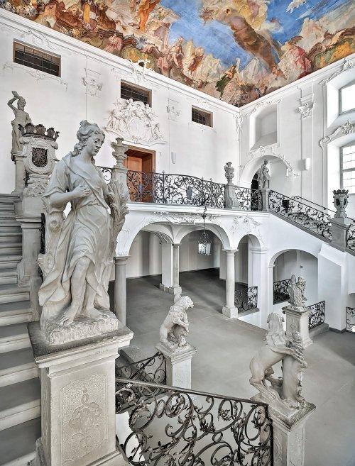 Eingangsbereich Interior Neues Schloss Meersburg