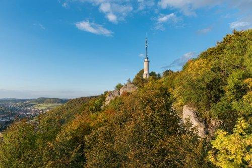 Der Schlossfelsenturm in Albstadt