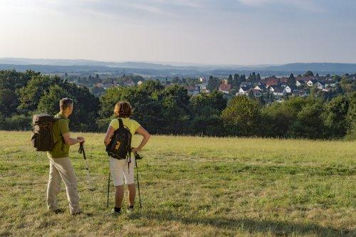 Aussicht von Scheideck auf Weiskirchen