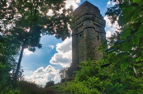 Bismarckturm auf dem Brasselsberg bei Kassel