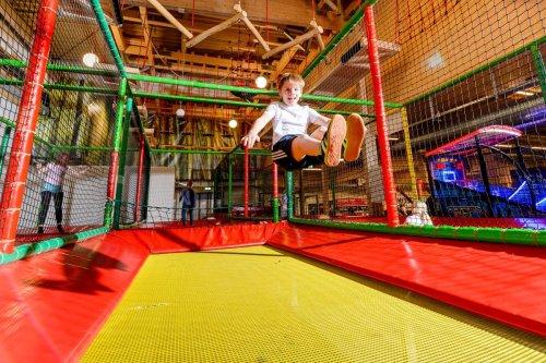Trampolin im Fun Center Husum