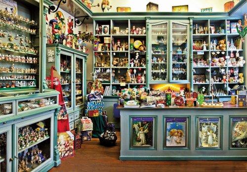 Historischer Laden im Weihnachtshaus