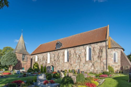 St. Martins Kirche in Tettens
