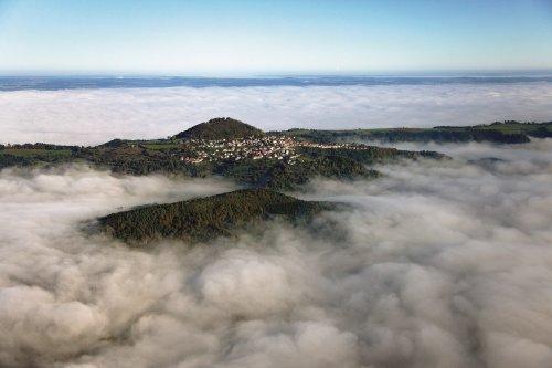 Göppingen_Hohenstaufen im Nebel