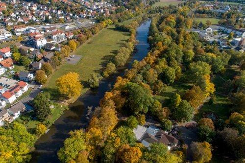 Luftaufnahme Fulda und Rotenburg
