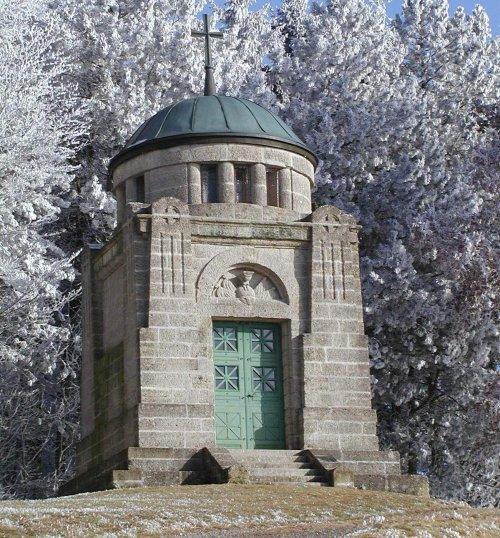 Buchbühldenkmal im Winter