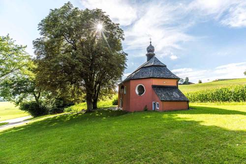Wallfahrtskapelle St. Jakob im Oberpfälzer Wald.