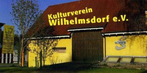 Außenansicht der Kulturscheune Wilhelmsdorf