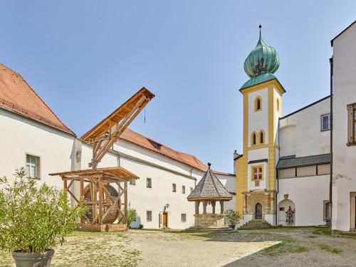 Innerer Burghof Veste Oberhaus