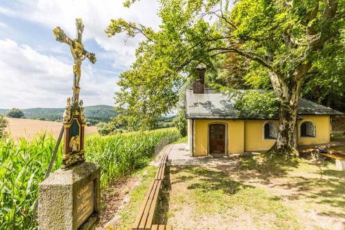 Wallfahrtskapelle Schönbuchen im Oberpfälzer Wald.
