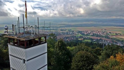 Blick vom Hessenturm