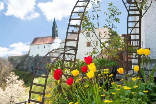 Die Ortschaft Ranfels mit Burg- und Kirchanlage: Hier spürt man die tausendjährige Geschichte