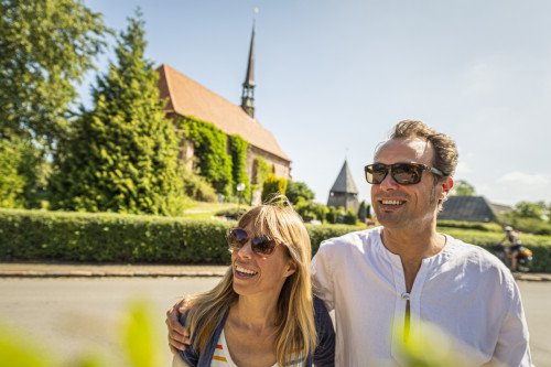 Beliebtes Auslfugsziel: Witzwort mit der Kirche St. Marien
