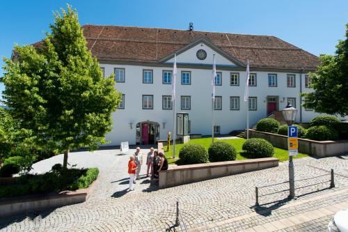 Außenansicht des Hohenzollerischen Landesmuseums in Hechingen