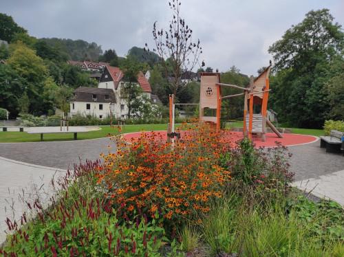 Der Glörpark in Dahlerbrück