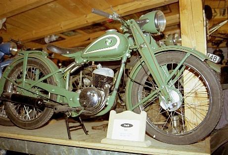 Modell aus der Motorrad- und Raritätensammlung in Kollnburg
