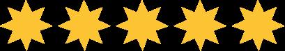 Fünf Sterne