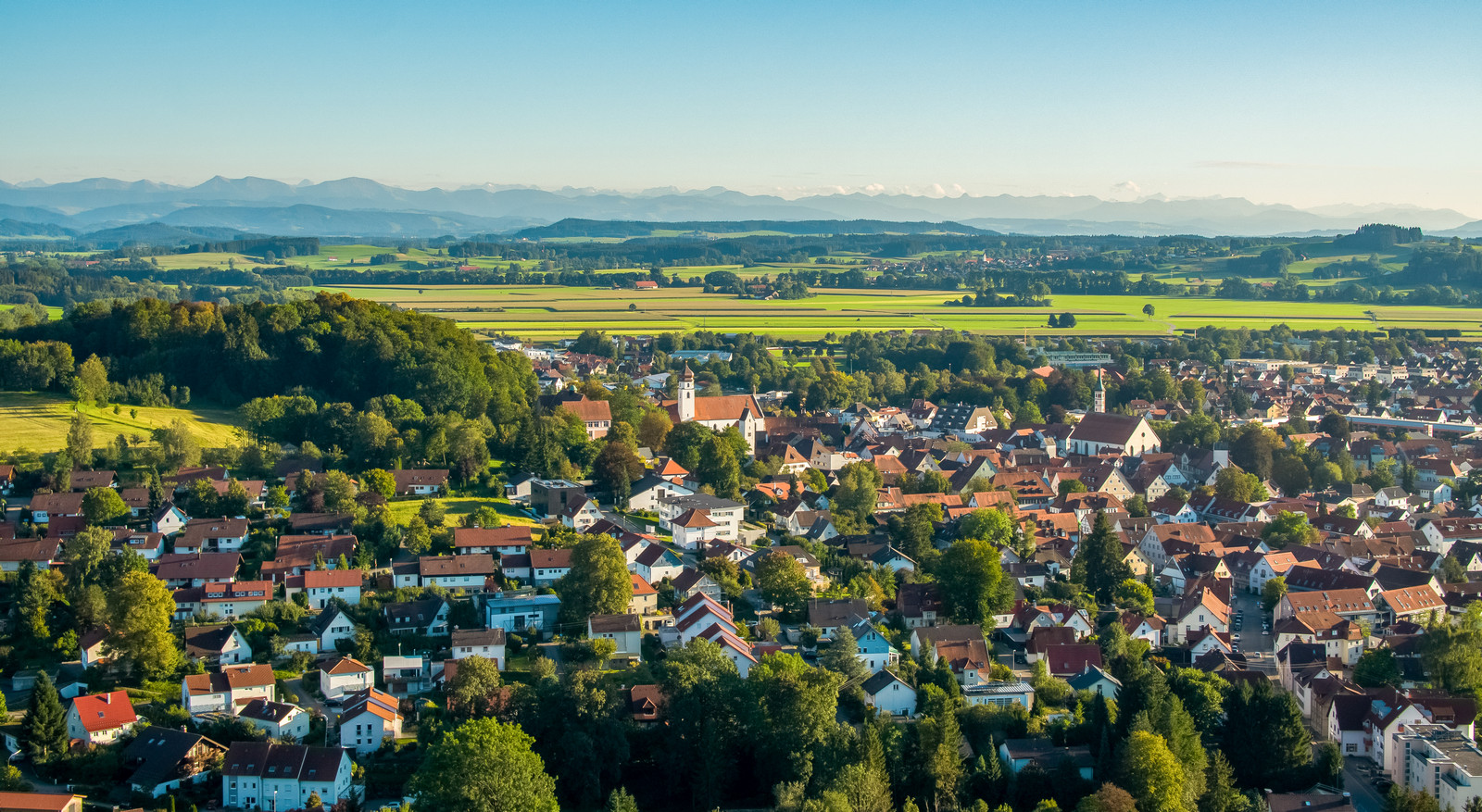 Leutkirch mit Weitblick