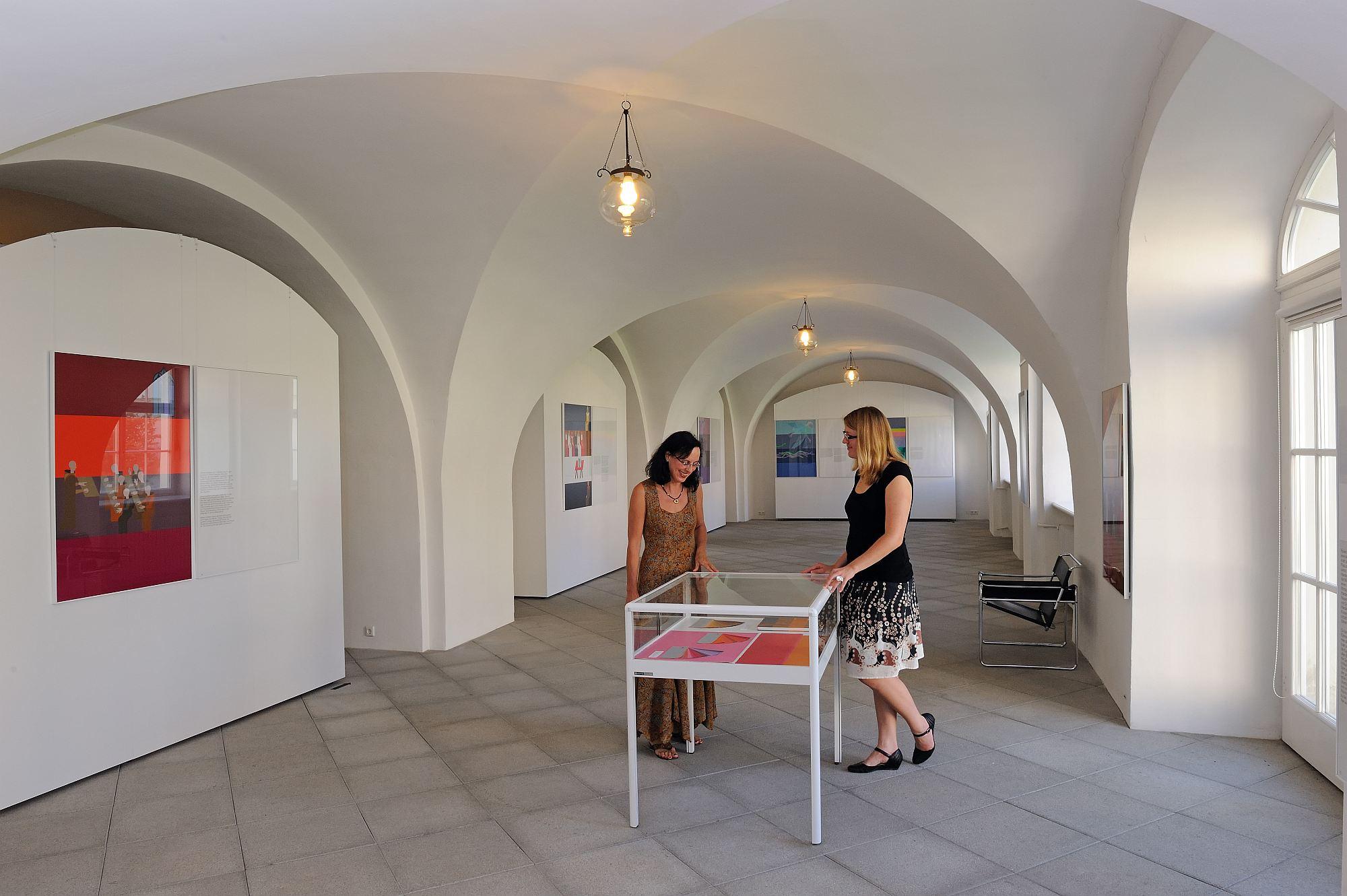 Ausstellung in der Städtischen Galerie im Schloss