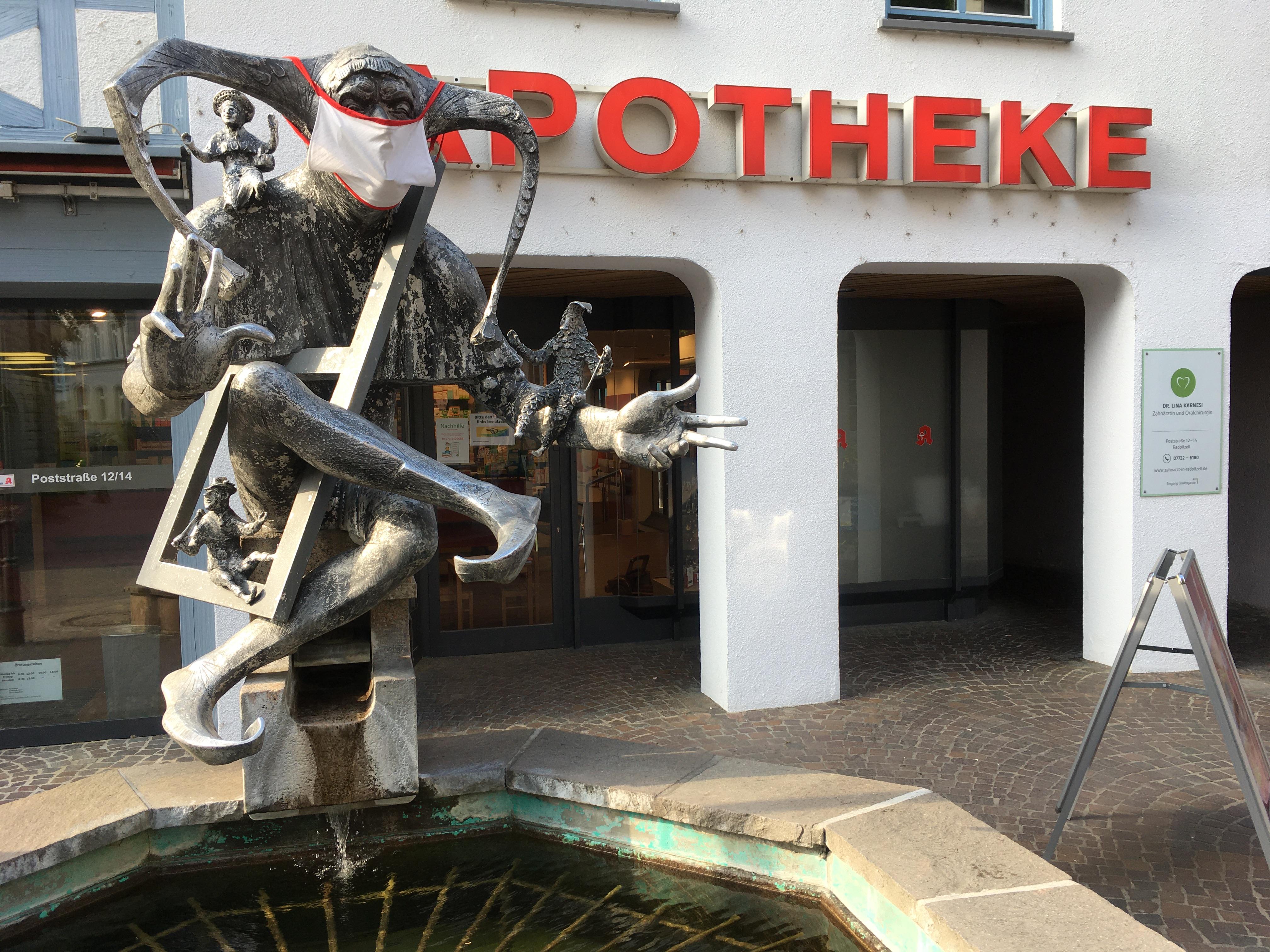 Brunnen in Radolfzell am Bodensee