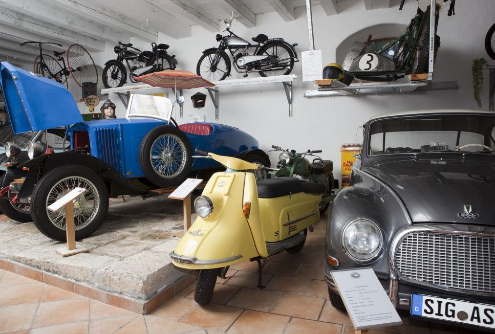 Oldtimermuseum im Schloß Meßkirch