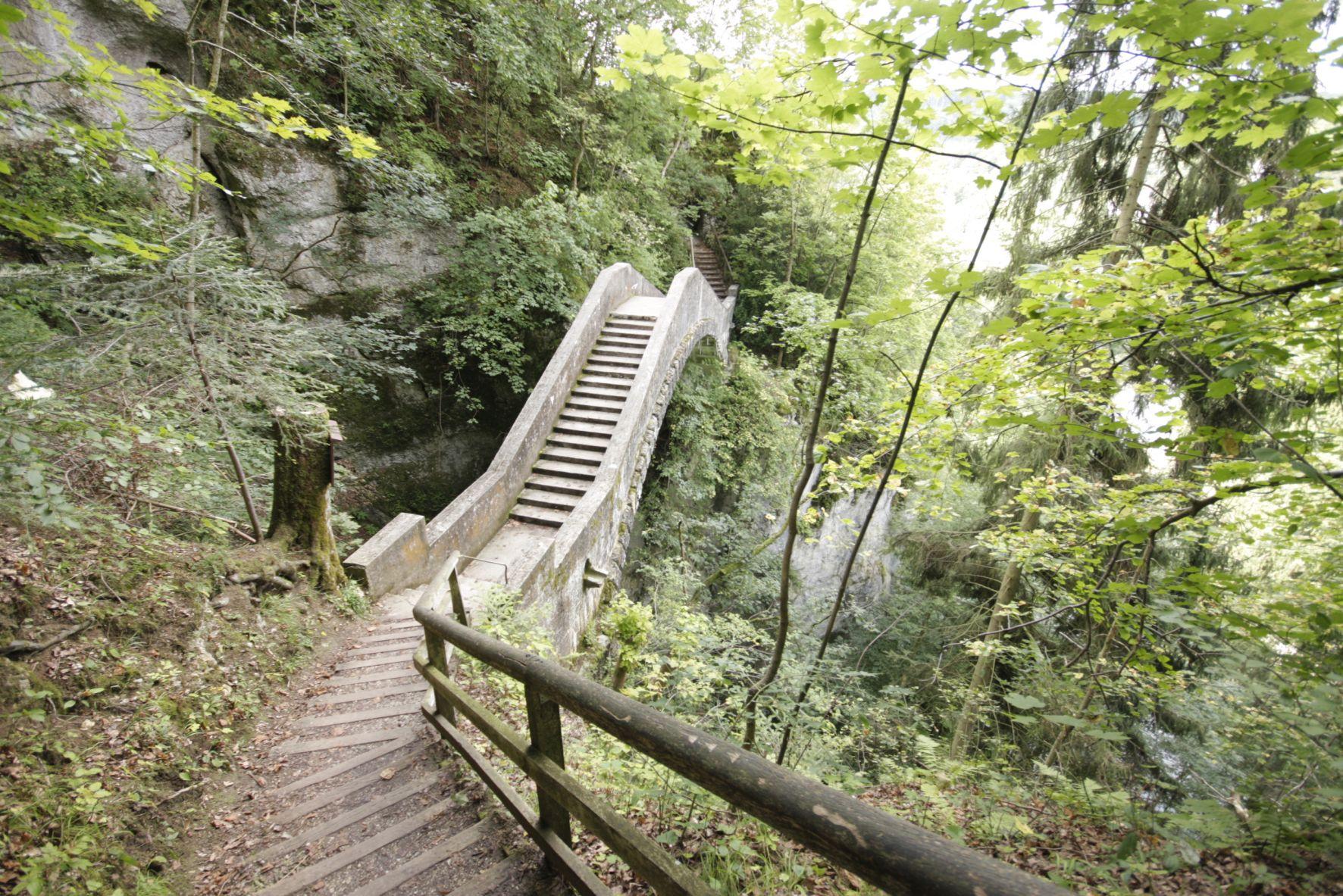 Teufelsbrücke bei Inzigkofen