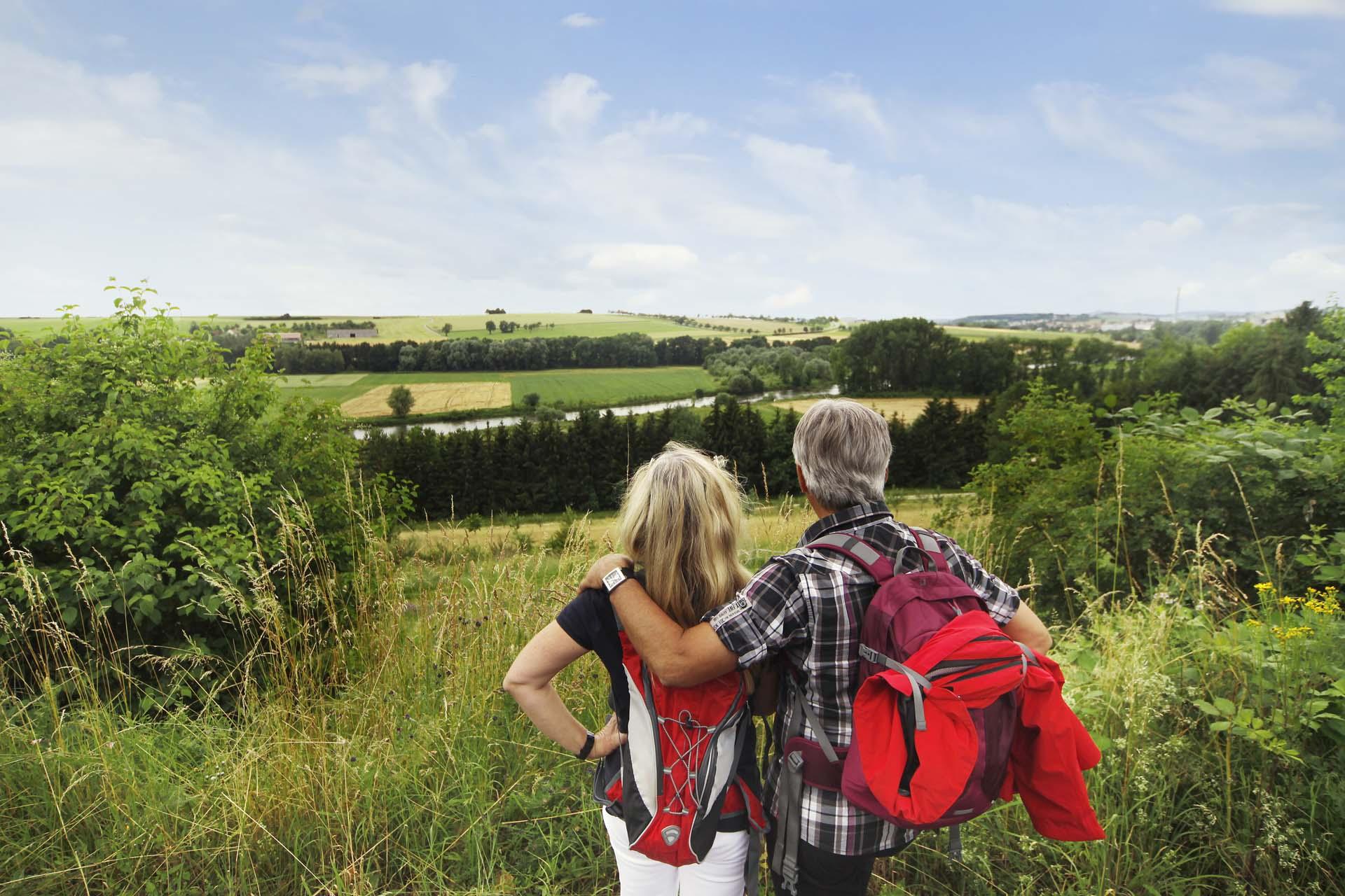 Wanderungen mit Aussicht: Bierwanderweg bei Ehingen