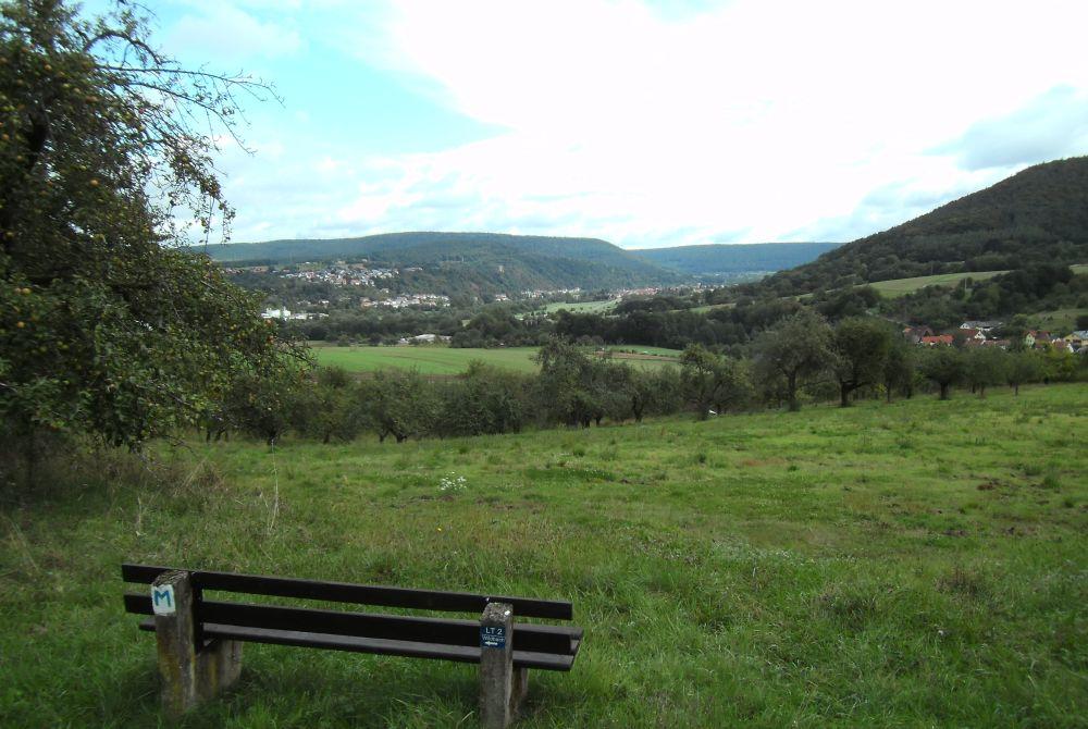 Rast am Wanderweg Romantisches Wildbachtal