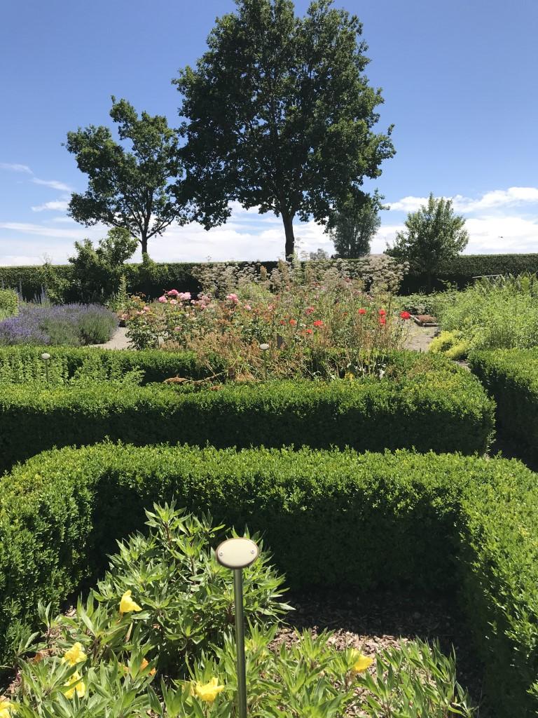Garten vor dem Leprosenhaus